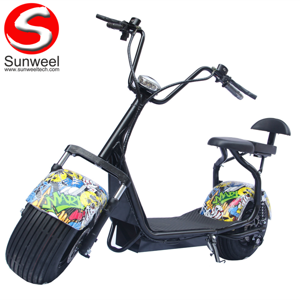 Big Wheel Harley Electric Scooter 2000w Citycoco
