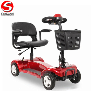 Suncycle hot sale disabled scooter electric mobility/skateboard confortabile arat