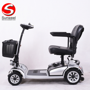Large Capacity, Comfortable Seating,Wide Range Electric Mobility Scooter