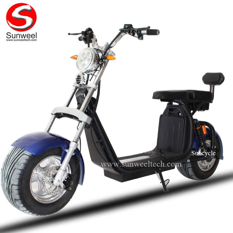 Latest Double Batteries Citycoco Harley Scooter