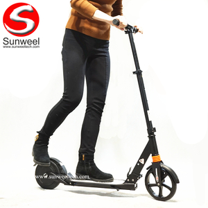 Small Electric Balance Kick Scooter 2 Wheels Escooter for Students