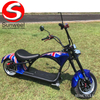 Emark/COC/EEC Electric Motorcycle Scooter 2000w Citycoco Fat Tires Harley Citycoco