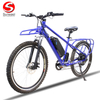 "26"" Electric Mountain Bike with Large Rear Carrier"