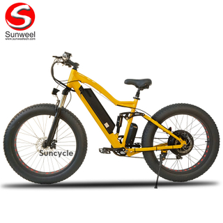 48V500W Full Suspension Electric Fat Bike