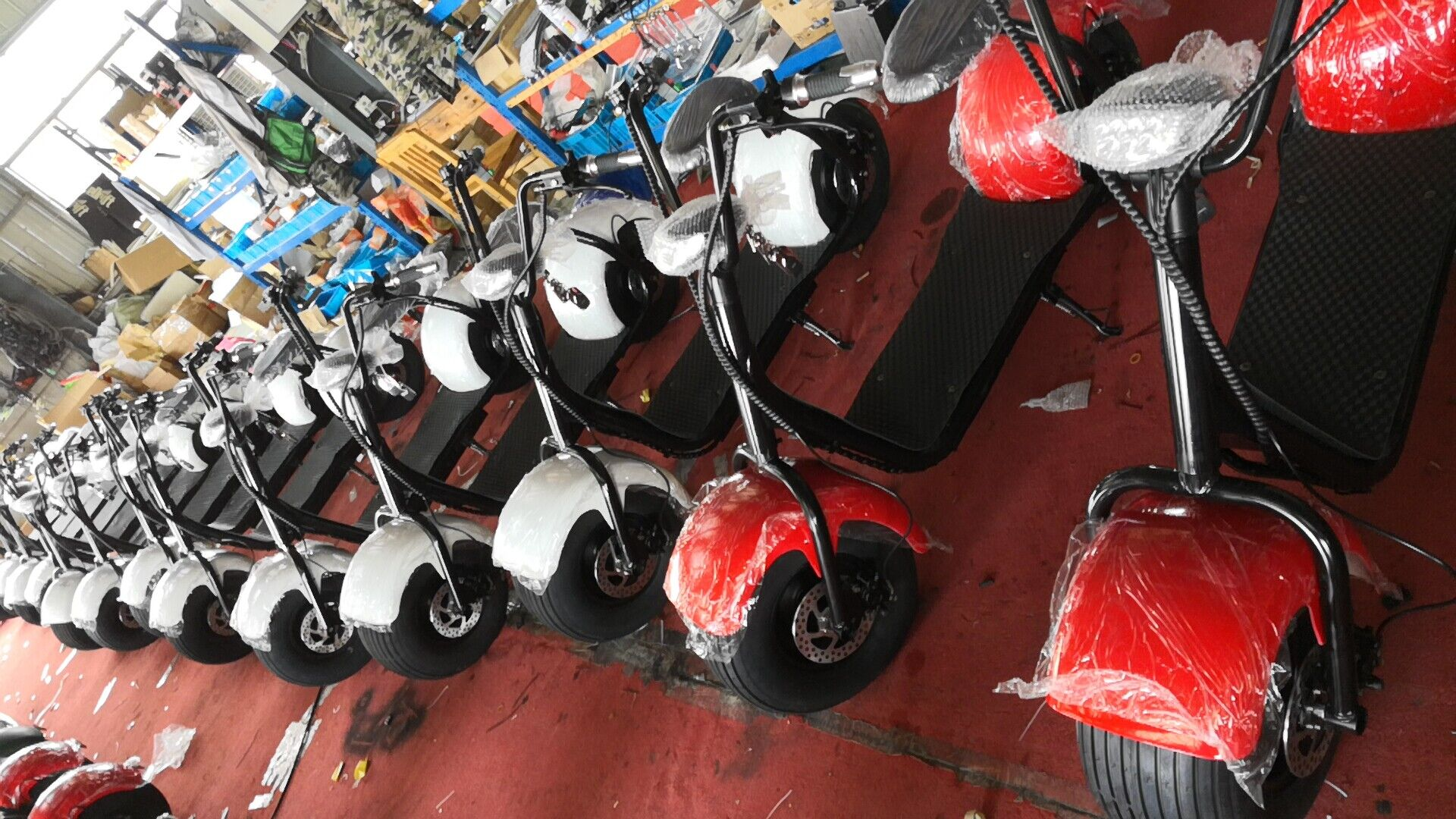 Production of electric scooter in this week