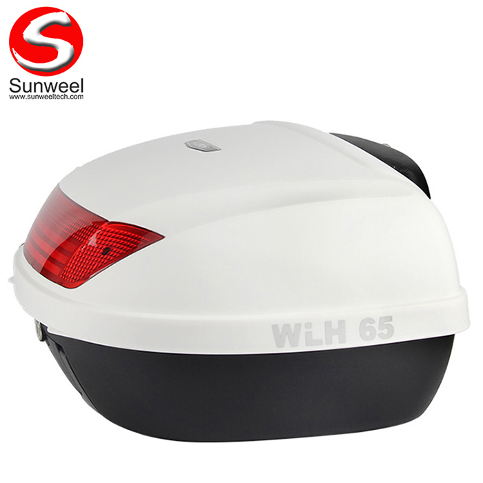 Detachable Scooter Motorcycle Helmet Tail Box for Delivery