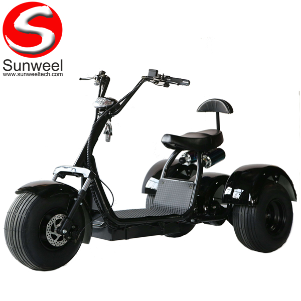 All Terrain 3 Wheel Electric Golf Scooter