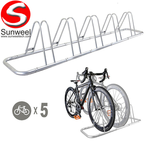 Bicycle Storage Parking Rack Floor Outdoor Bike Stand