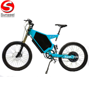 Suncycle high speed stealth bomber 72v 3000w electric bike kit china electric sport bikes motorcycle