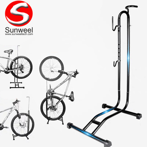 Multifunctional Vertical Parking Rack for Electric Bicycle