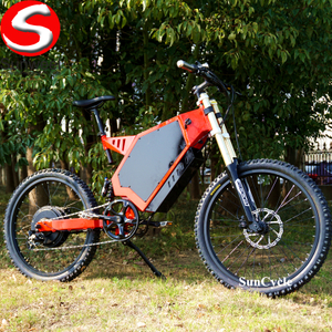 Suncycle Big Tire 72v3000w Hub Motor Electric Bicycle 5000w Full Suspension Enduro Ebike