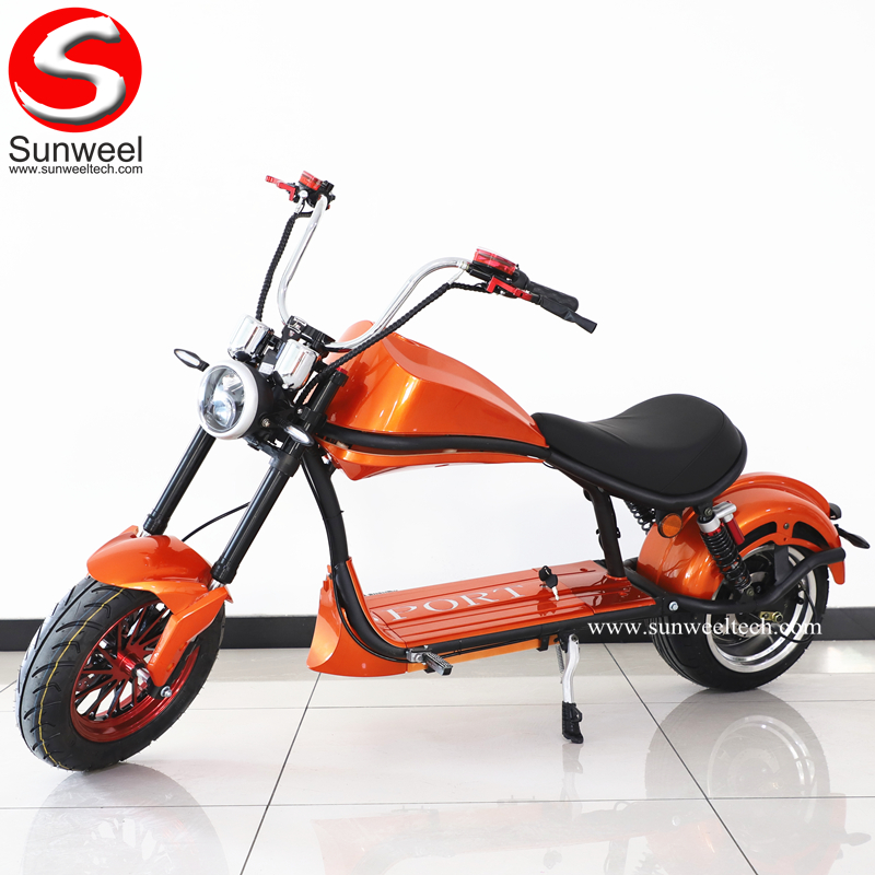Suncycle New Citycoco Electric Scooter 2000w 12inch Fat Wheel Electric Scooter
