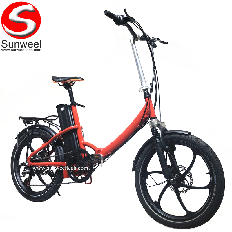 Chinese Factory Lowest Price E-bike Lightweight Portable Foldable Electric Bicycle