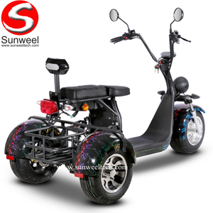Suncycle Three Wheel Golf Cart Scooter Powerful Motorcycle